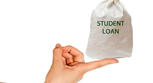 Balancing student loans is difficult for the lower-salaried.
