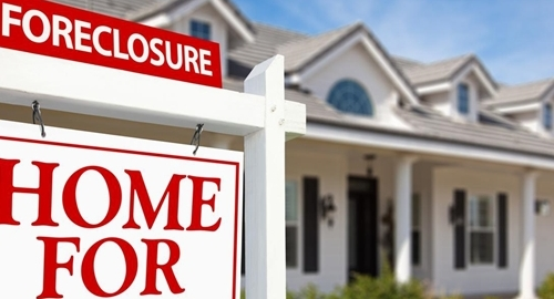 Foreclosure numbers are down.