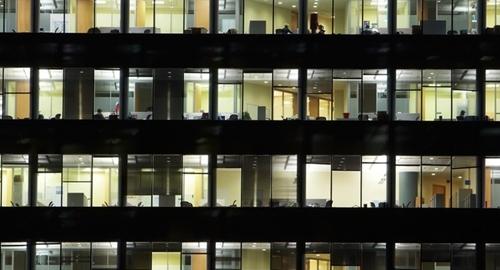Office vacancies have fallen sharply in 2014.