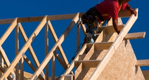 Recent data reveals that housing starts dropped 8.5 percent in January.