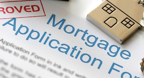 The number of new mortgages are up year over year.